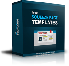 Daily Special Free Squeeze Page Templates - Free squeeze page templates